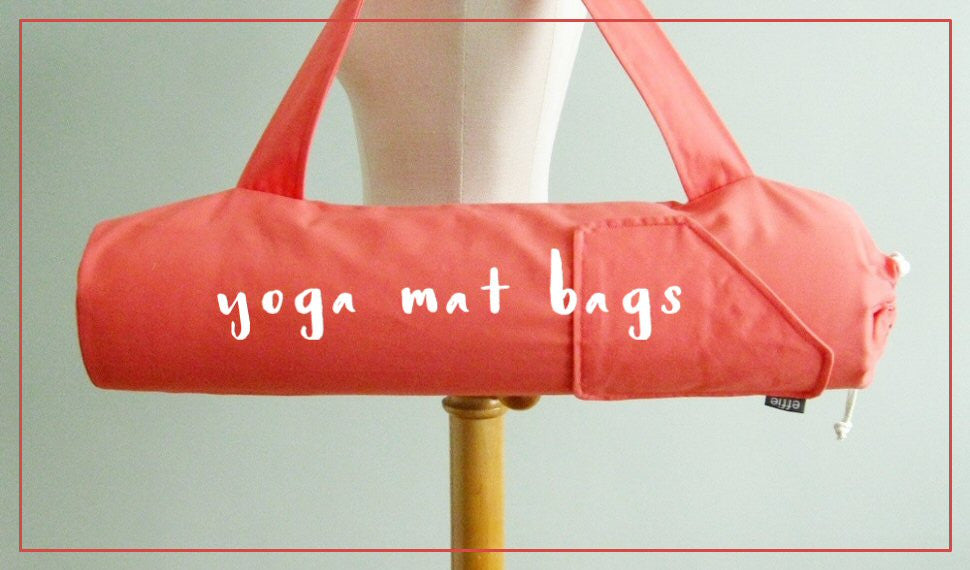 Stylish Handmade Yoga Mat Bags