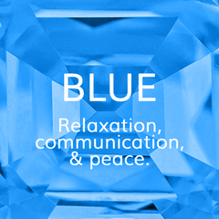 Life Path Number 5, Blue: Relaxation. communication and peace, Colour Theroy