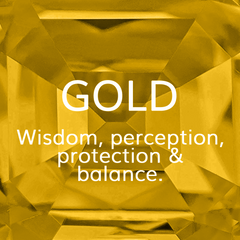 Life Path Number 9, Gold: Wisdom, perception, protection and balance, Colour Theroy