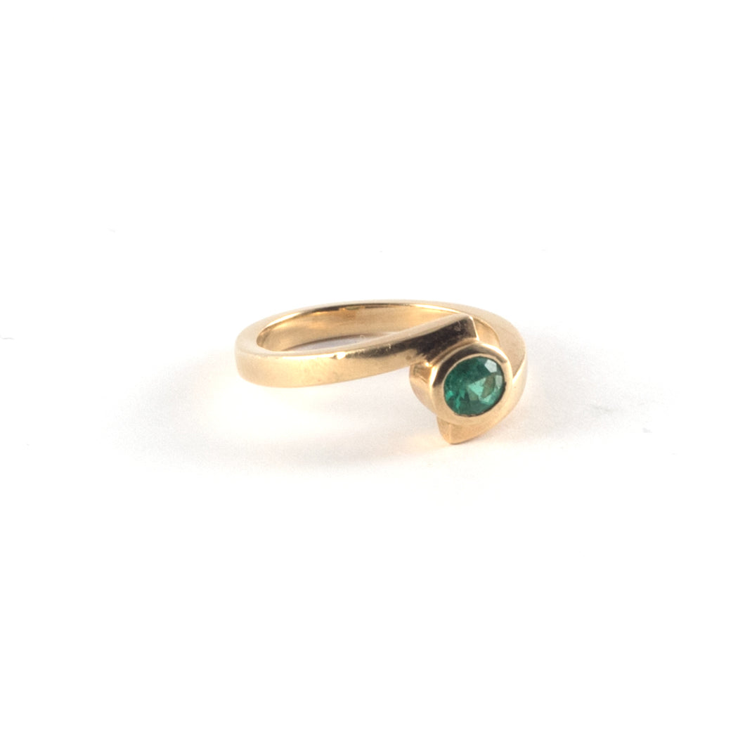 Emerald 18ct Gold Ring