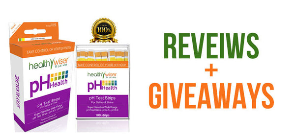 HealthyWiser Ph Test Strips Review + Giveaway