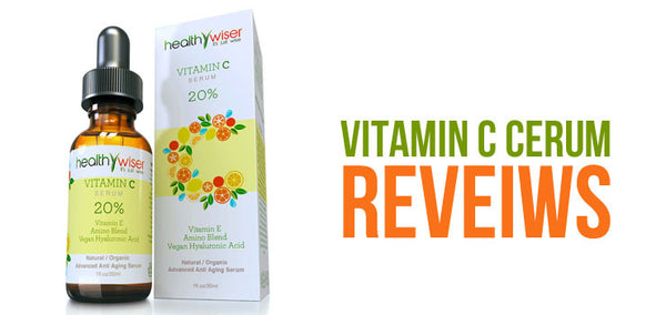 HEALTHY WISER ORGANIC & VEGAN VITAMIN C SERUM REVIEW & GIVEAWAY