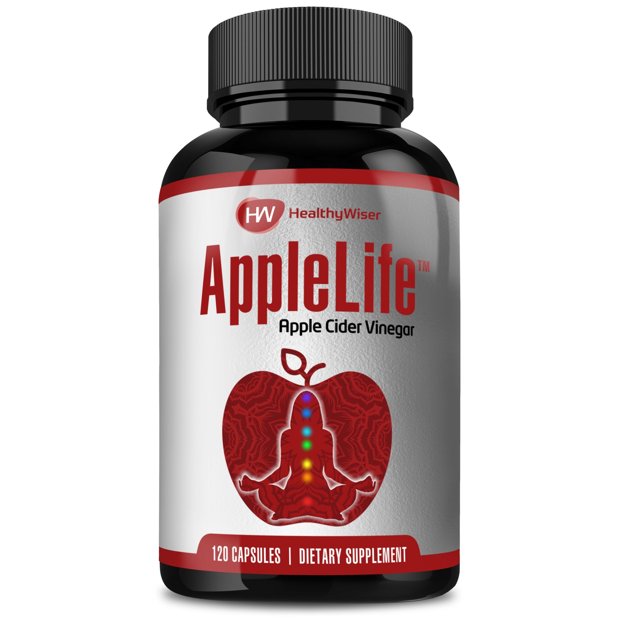 Apple Cider Vinegar Capsules 1000Mg - 120 Tablets -7150