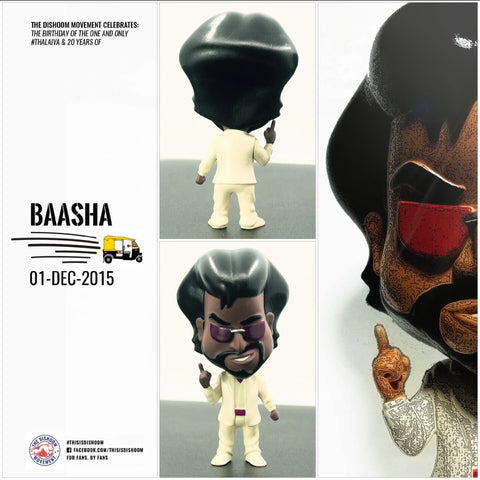 "4"" MANICK BAASHA (WHITE VARIANT) COLLECTIBLE"