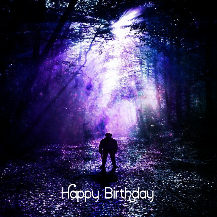 A MOMENT IN TIME - Happy Birthday For Man E*Card (Digital)