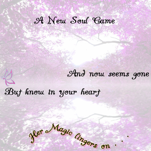 A NEW SOUL CAME -  Loss Of Baby - CARD (Digital)