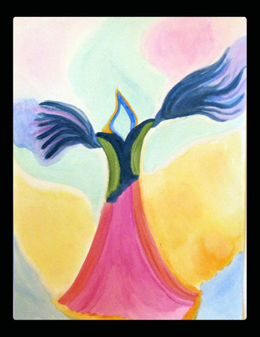 Sacred Art - Angel Fairy #5 - Original Painting