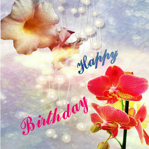 FRIENDSHIPS ARE A DANCE OF LIGHT - Happy Birthday Dear Friend E*Card (Digital)