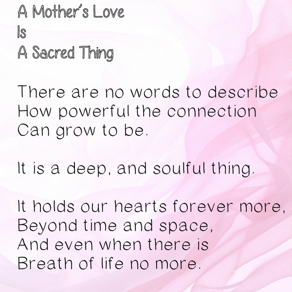 HAPPY MOTHER'S DAY (mother in spirit) - E*Card (Digital)