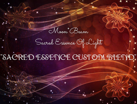 "49 ""CUSTOM SACRED ESSENCE BLEND"" CREATED JUST FOR YOU"