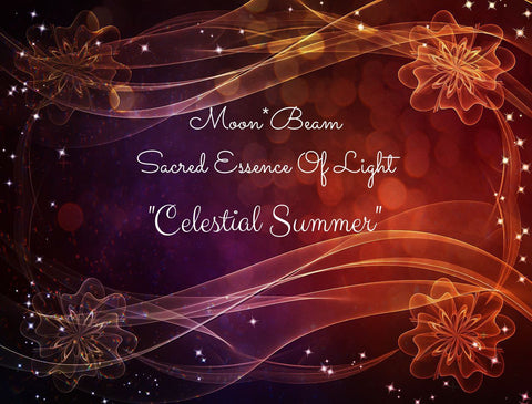 "12 ""CELESTIAL SUMMER"" Sacred Essence Blend"