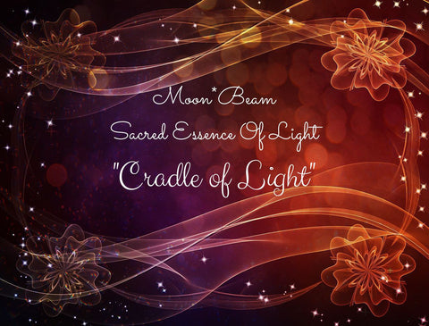 "13 ""CRADLE OF LIGHT"" Sacred Essence Blend"