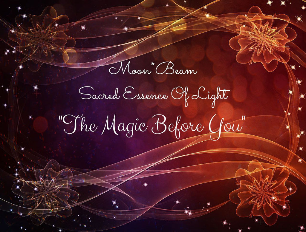 "20 ""THE MAGIC BEFORE YOU"" Sacred Essence Blend"