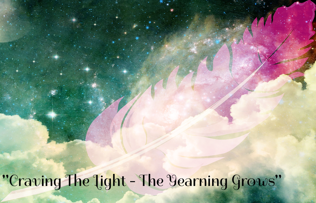 """CRAVING THE LIGHT - THE YEARNING GROWS"" - Phoenix Rose Essence"