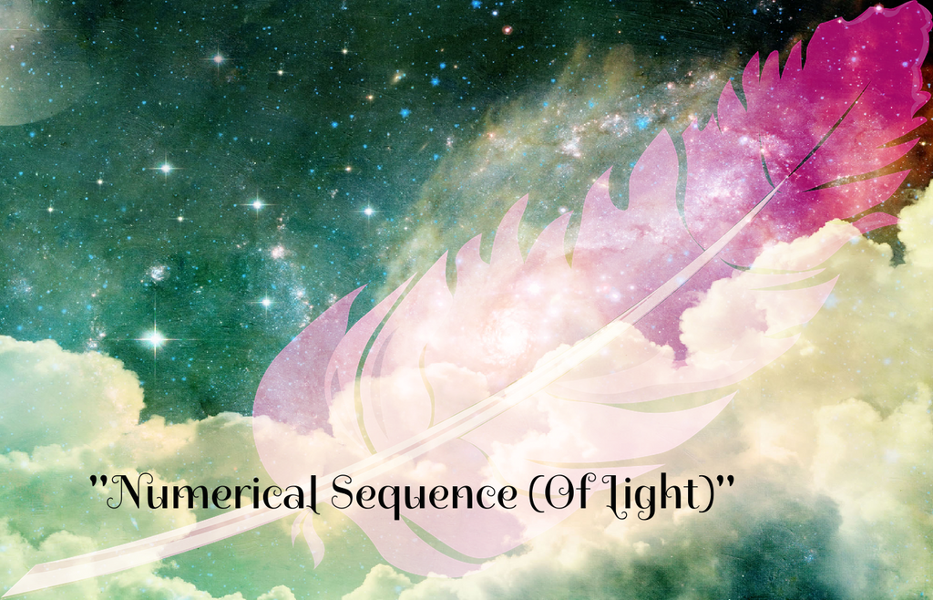 """NUMERICAL SEQUENCE (OF LIGHT)"" - Phoenix Rose Essence"