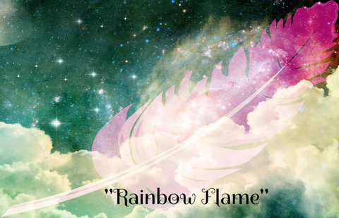"""RAINBOW FLAME"" - Phoenix Rose Essence"
