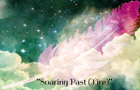 """SOARING PAST (FIRE)"" - Phoenix Rose Essence"
