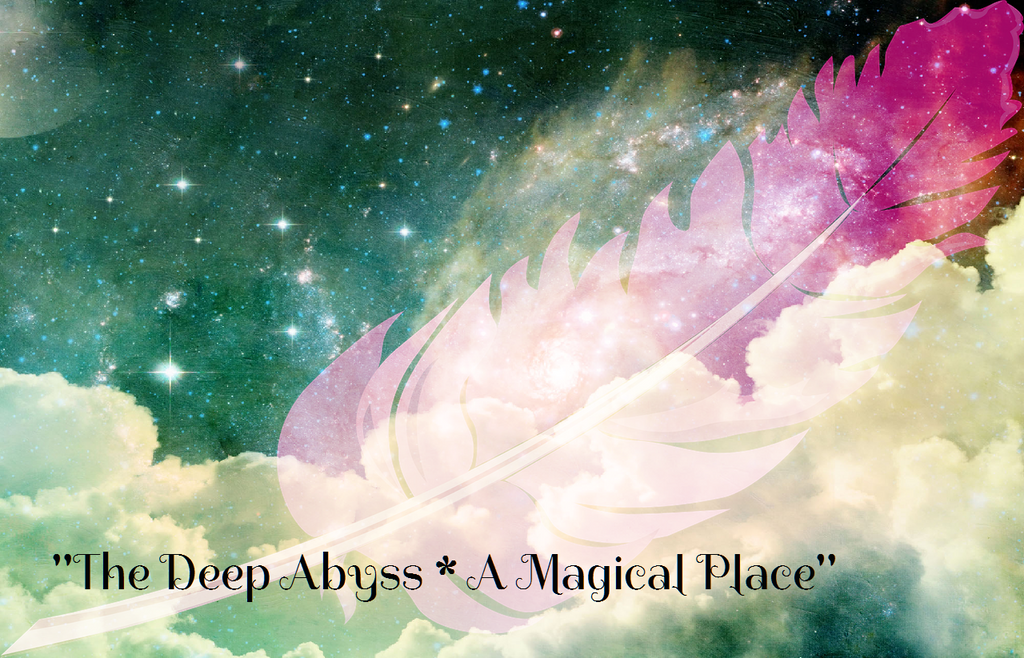 """THE DEEP ABYSS - A MAGICAL PLACE"" - Phoenix Rose Essence"
