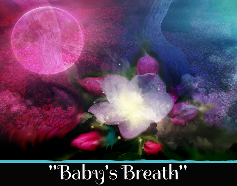 """BABY'S BREATH"" - SACRED SHADOW ESSENCE OF LIGHT 004"