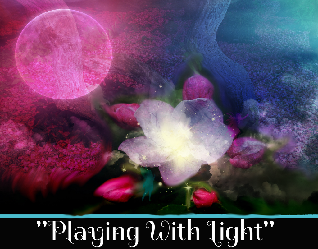 """PLAYING WITH LIGHT"" - SACRED SHADOW ESSENCE OF LIGHT 007"