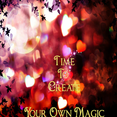 TIME TO CREATE YOUR OWN MAGIC - Spirit*Book WeeBook (Digital Download)