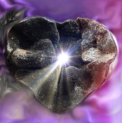 The Dark Heart . . . Glimmer #1<br>CRYSTAL GIFT OF LIGHT