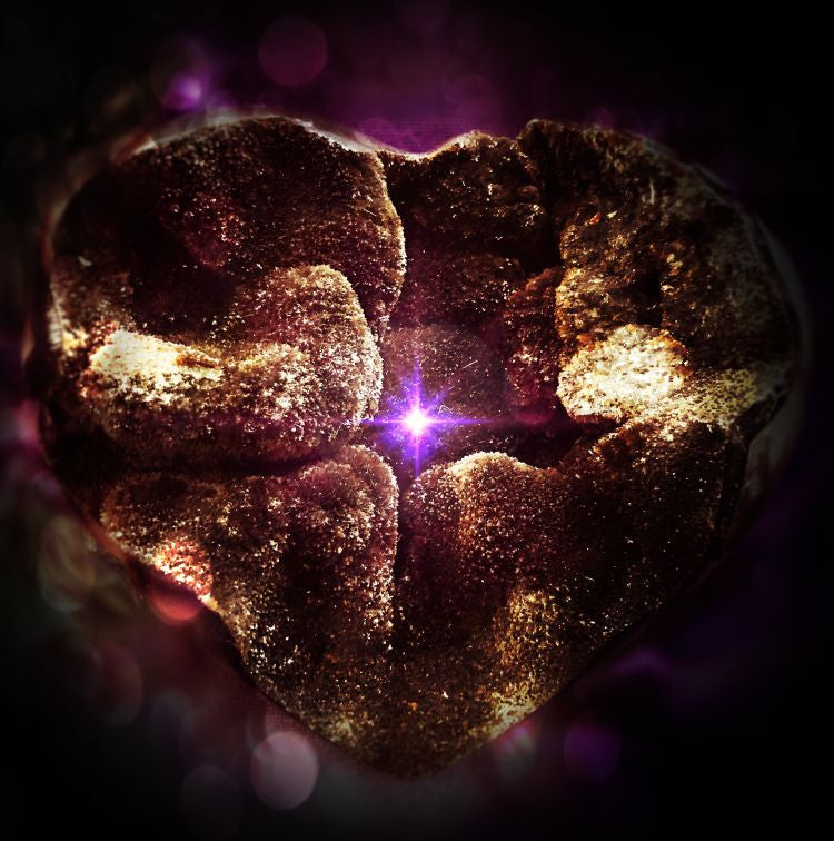 The Dark Heart . . . Glimmer #3<br>CRYSTAL GIFT OF LIGHT