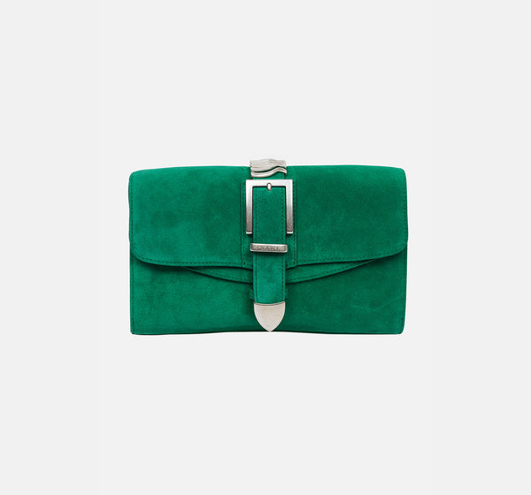Emerald Green Suede