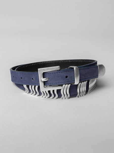 Midnight Navy Silver