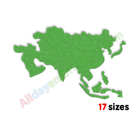 Asia machine embroidery