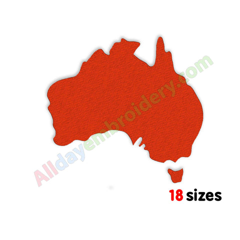 Australia machine embroidery