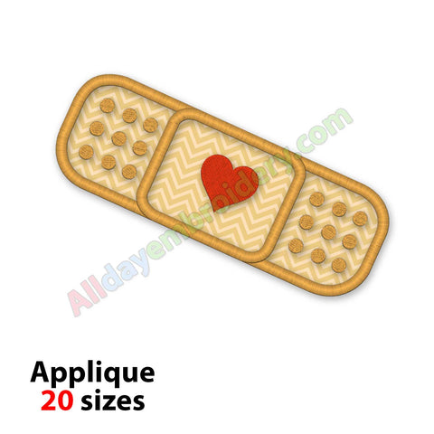 Bandage applique design
