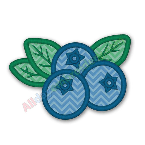 Blueberry Applique