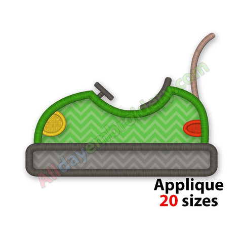 Bumper Car Applique