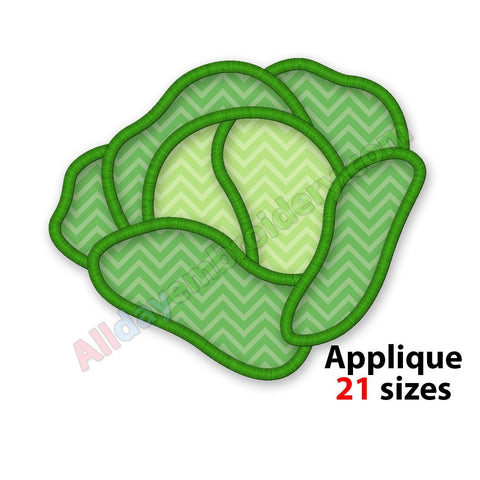 Cabbage applique