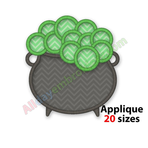 Cauldron Applique