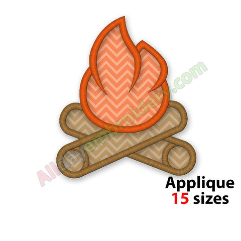 Campfire Applique