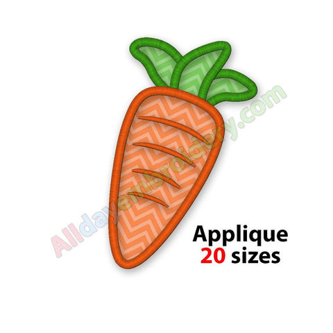 Carrot applique