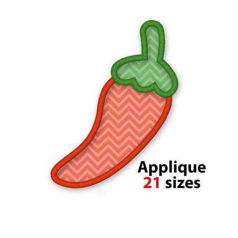 Chili applique