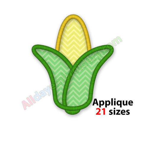 Corn cob applique