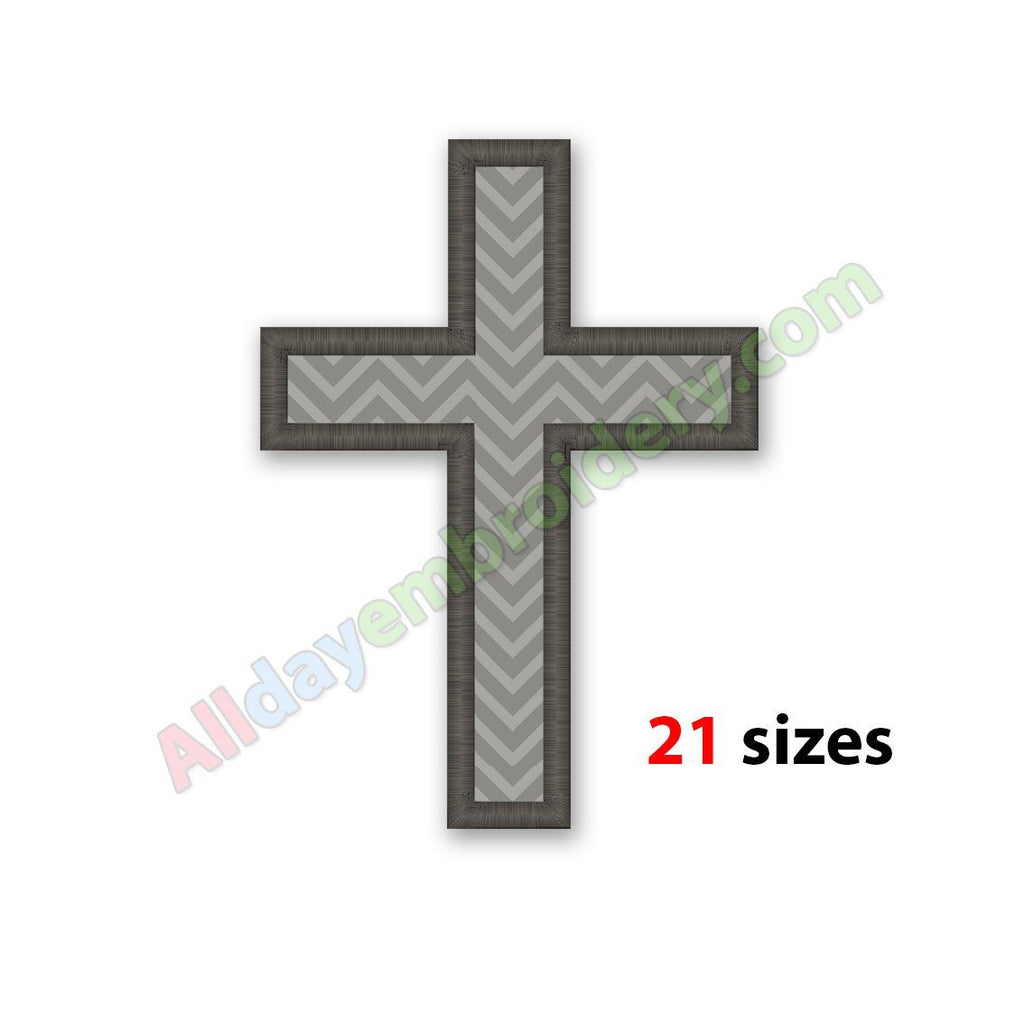 Cross applique