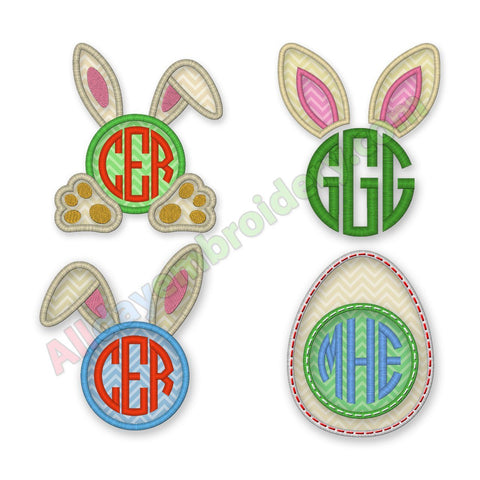 Easter Monogram Frames