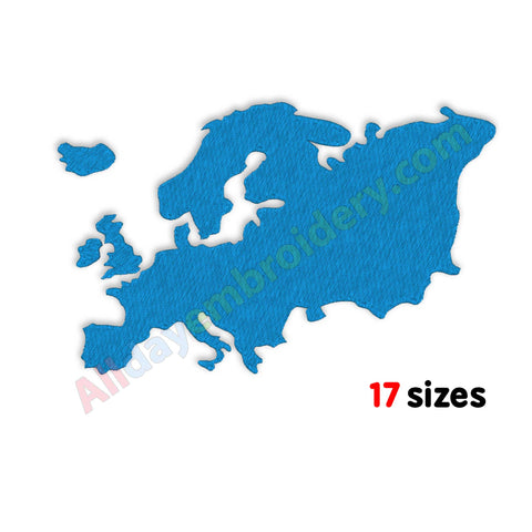 Europe machine embroidery
