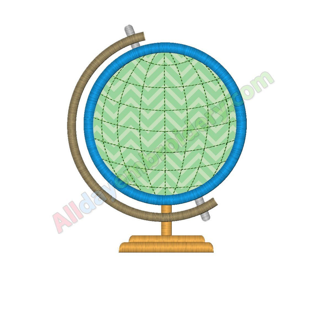 Globe Applique