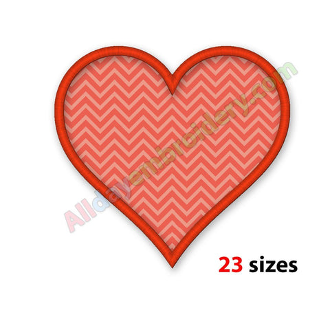 Heart Applique Design