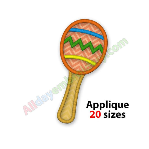 Maraca applique