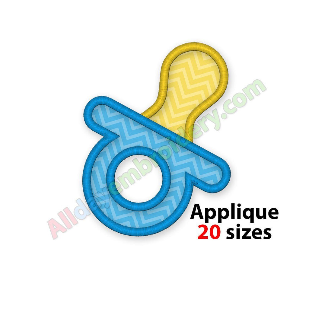 Pacifier Applique