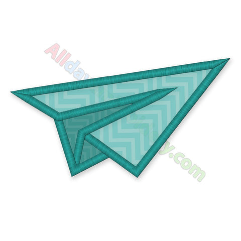 Paper Plane Applique