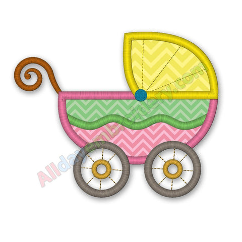 Baby Pram Applique