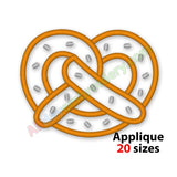 Pretzel Applique